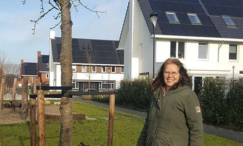 Mirjam Boering is mede initiatiefnemer van Groen Kortenoord