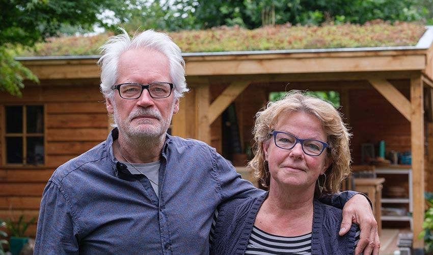 Annemieke Juffermans en Henk Bakker