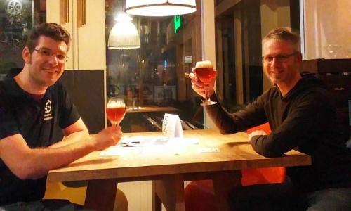 Stadsbrouwerij Stefan-en-Dennis-proost