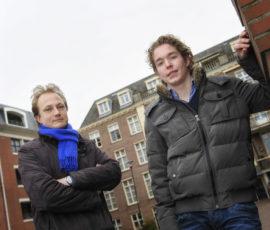 Peter Wondergem en Roy van Paassen van J. Bakker Vastgoedbeheer