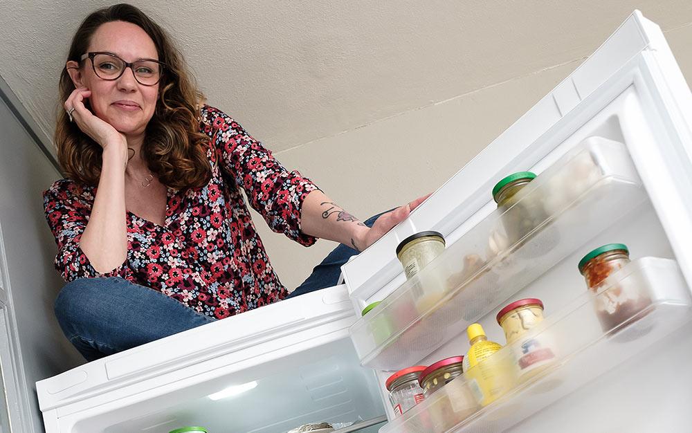 Karin bespaart energie met haar nieuwe koelkast