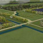 Illustratie zonnepark in visie buitengebied